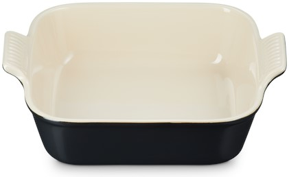 Le Creuset Farm Fresh Vierkante Ovenschaal Mat Zwart